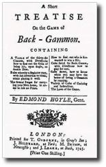 Hoyle - A Short Treatise on the Game of Back-Gammon